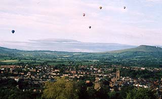 Ludlow from Whitcliffe