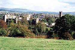 View over Ludlow